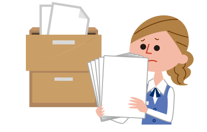オフィス書類全般をオフィス内に保管していたが、オフィス移転を機に紙媒体の電子化が急務となった。