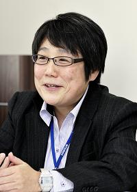 第三事業部事業推進部業務課長 坂田真奈美氏